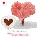 マジックラブツリー ミニ 6時間で育つ不思議なツリー【おとぎの国】 バレンタイン