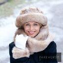 寒い北の国・カナダから軽くて暖かいふわふわファー帽子が届きました。カナダ老舗レディー