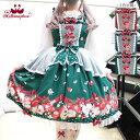 ショッピングフォーゼ 【予約】メタモルフォーゼ Apple Bunny ペプラムジャンパースカート【ロリータファッション ロリィタ】【2021年12月〜2022年1月入荷】