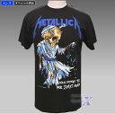 【メタリカ・オフィシャルTシャツ】(メンズ)スカル Metalica