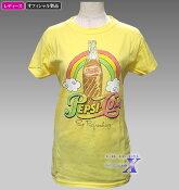 【米国ペプシコーラ公式Tシャツ】レディース/イエロー