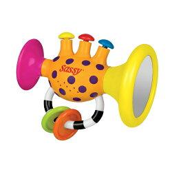 Sassy (サッシー)チューン・トランペット,おもちゃ,生後6カ月頃から,おすすめおもちゃ,感想,レビュー,口コミ