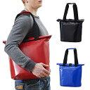 ZAT トートバッグ 全3カラー無縫製バッグ/防水素材/カバン/トート/メッセンジャーバッグ/通勤/通学/自転車/A4