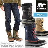 SOREL 1964 PAC NYLON[全4色] ソレル パックナイロン スノーブーツメンズ(男性用) 【靴】_11509E(trip)【送料無料】【あす楽】