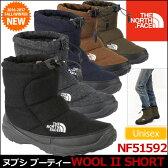 ノースフェイス THE NORTH FACE ヌプシ ブーティー ウール2 ショート[計5色](NF51592)NUPTSE BOOTIE WOOL II SHORTユニセックス(男女兼用)【靴】_11609E(trip)