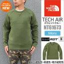 【SALE/25%OFF】ノースフェイス THE NORTH FACEテックエアースウェットクルー[全4色](NT61673)TECH AIR SWEAT CR...