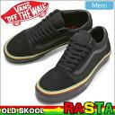 バンズ VANS オールドスクール (ラスタ)[ブラック/ブラック]OLD SKOOL (RASTA)メンズ(男性用)【靴】_11701E(trip)