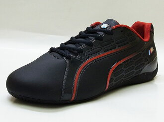 PUMA PUMA PRO RACER BMW Pro racer pirate black/ribbon red pirates black / ribbon red sneakers 12 FW