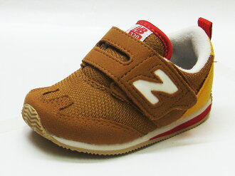 NEW BALANCE new balance FS320 SYI brown / yellow sneakers NB KIDS kids 12 FW