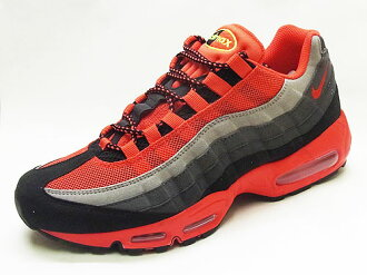 NIKE Nike AIR MAX 95 Air Max black/challenge red/dark gray black/C... red/dark grey sneakers EKIDEN 13FW