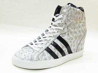 ADIDAS ORIGINALS Adidas originals BASKET PROFI HEEL W バスケットプロフィヒールウィメンズ black white / black snake snake 13SS
