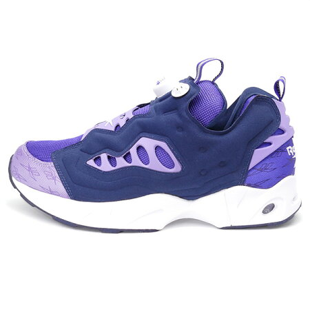 REEBOK�꡼�ܥå�INSTAPUMPFURYROAD���󥹥��ݥ�ץե塼�꡼�?��purple/navy/white�ѡ��ץ�/�ͥ��ӡ�/�ۥ磻��16SS