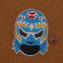 プロレスマスクのステッカー:サングレ・アステカ(1)