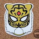 プロレスマスクのステッカー:タイガーマスク(1)