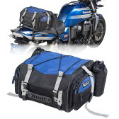 タナックス モトフィズ ミニフィールドシートバッグ ネイビーブルー MFK-219 容量可変タイプ(19〜27L)