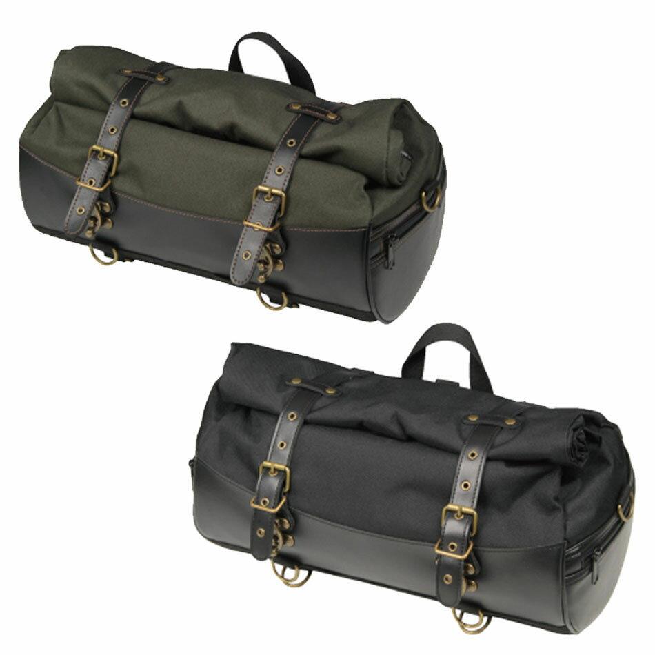 【ラフ&ロード/RA1029】HBシートバッグ乗っても降りても様になるロール式シートバッグ