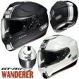 ★送料無料★ SHOEI GT-Air WANDERER (ジーティー エアー ワンダラー) インナーサンバイザー装備 フルフェイスヘルメット