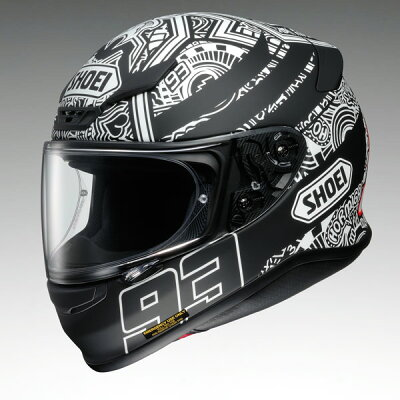 ショウエイ(SHOEI)Z-7MARQUEZDIGIANTゼット-セブンマルケスデジアントフルフェイスヘルメットウインターテスト仕様レプリカ