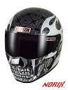★送料無料★シンプソン/SIMPSON SUPER BANDIT 13 SKULLAPES(スカレイプス/SSB13) バイク用フルフェイスヘルメット
