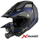 ★送料無料★WINS X-ROAD FREE RIDE ウインズ エックス・ロード フリーライド インナーバイザー付き デュアルパーパスヘルメット