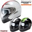 ★送料無料★WINS CROWN HELMET ウインズ MODIFY アドバンス GTストライプ システムジェット ヘルメットMODIFY Advance GT STRIPE