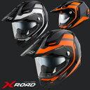 ★送料無料★ WINS X-ROAD FREE RIDE ウインズ エックス・ロード フリーライド インナーバイザー付き デュアルパーパスヘルメット