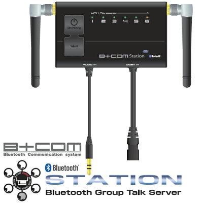★送料無料★サインハウス00073011GTS216B+COMStationビーコムステーションBluetoothグループトークサーバー