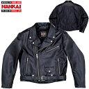 ★送料無料★ ナンカイ RDJ-22BB ヴィンテージ サイクルジャケット レザージャケット ワイドサイズタイプ