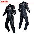 ★送料無料★シンプソン 2ピース パンチング レザースーツ SST-910P SIMPSON