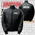シンプソン インナージャケット「BLACK」SIJ-101F SIMPSON