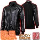 山城謹製 Body Regulator 防風ストレッチインナージャケット(ブラック)YKM-201