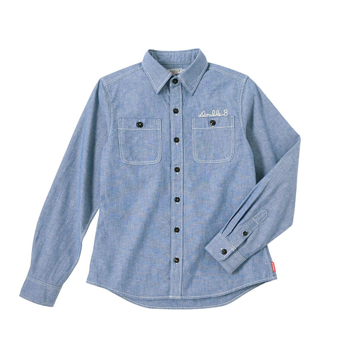 ダンガリーシャツ(大人用)〈S(155-165cm)〉