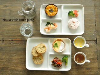白色的廚房的房子咖啡廳午餐盤子,白色-2 級