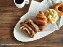 白い食器 フラットオーバルベーカリープレート40.7cm ホワイトレベル2【美濃焼/食器/訳あり/アウトレット/大皿】
