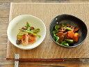 和食器 水玉ドット5.5煮物鉢【美濃焼/食器/訳あり/アウトレット込み/煮物鉢/白/黒】