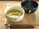 和食器 水玉ドットうどん鉢【美濃焼/食器/訳あり/アウトレット込み/どんぶり/丼/鉢/うどん/わけあ