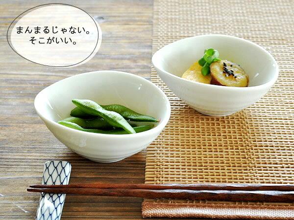 白い食器 たまごみたいな小さ〜い小鉢 ホワイトレベル2【美濃焼・食器・小鉢・オーバル】...:mhomestyle:10000354