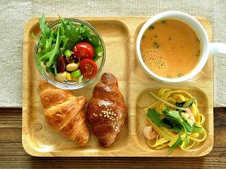 木扶手的午餐盤子,< 直腸 >