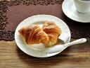 白い食器 ジノリ風アンジェパン皿16.8cm ホワイトレベル2【美濃焼/通販/器/取り皿/中皿/パン皿】