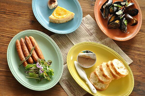 洋食器ラ・クレールオーバルトレー243cm美濃焼/食器/訳あり/アウトレット込み/通販/器/大皿/楕
