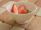 白い食器 苺大好き!プチデザートカップ ホワイトレベル5【食器/通販/器/デザートカップ/小鉢】