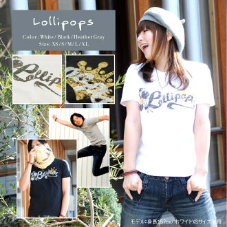 ★ ♪ Lollipops mi-215. ne-sorted limited message T shirt 10P10Nov13