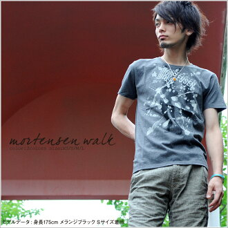 T shirt short sleeve MORTENSEN WALK ♪ mi-215. ne-sorted limited edition T shirt XS S M L XL 10P30Nov13