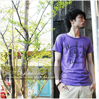 T shirt design printing Arkansas short sleeve T shirt mens Kurashiki Kojima from /SS 10P30Nov13