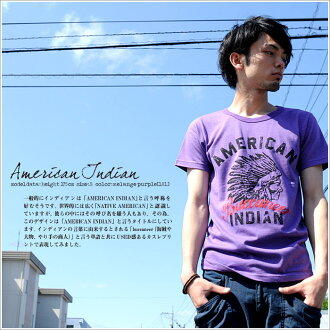 T shirt design printed American Indian short sleeve T shirt mens Kurashiki Kojima from /SS 10P10Nov13