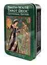 タロットカード スミス ウェイト センテニアル 復刻版 缶入り ポケットサイズ タロット カード Smith-Waite Centennial Tarot Deck