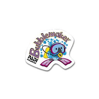 PADI パディジャパン バブルメーカーステッカー【02P24Feb18】