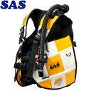 【SAS 】10445 ランドマークXII AACS-1 ホワイトシリーズ ホワイト/イエロー【送料無料】【10P03Dec16】