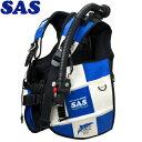 【SAS 】10445 ランドマークXII AACS-1 ホワイトシリーズ ホワイト/ブルー【送料無料】【10P03Dec16】