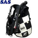 【SAS 】10445 ランドマークXII AACS-1 ホワイトシリーズ ホワイト/ブラック【送料無料】【10P03Dec16】